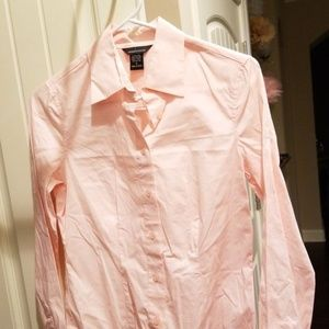 Victoria's Secret Baby Pink Dress Shirt